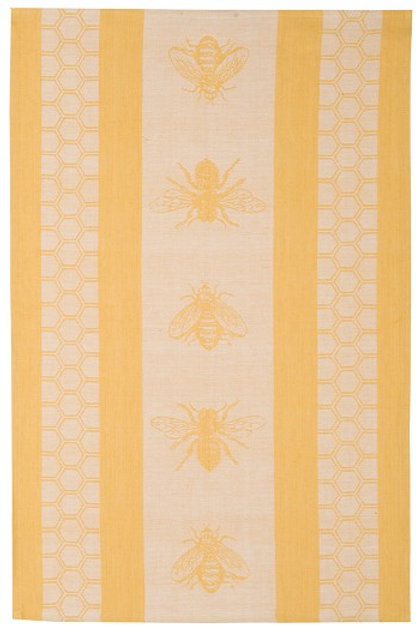 Now Designs Tea Towel JACQUARD HONEYBEE