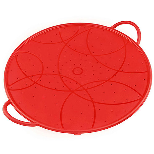 Kuhn Rikon Silicone Splatter Guard 12″in RED