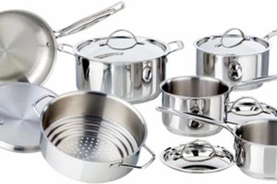 Meyer Confederation cookware set, 11pc