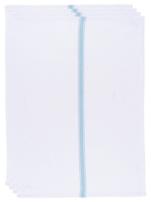 Now Designs 4pc Tea Towels Brooklyn Turquoise