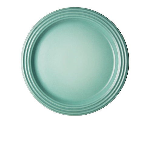 Le Cresuet Classic Dinner Plates Set of 4 in SAGE