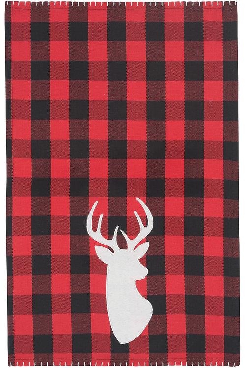 Now Designs Buffalo Check Deer Towel