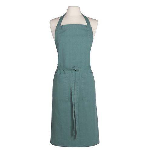 Now Designs Chef's Stonewashed Heirloom Lagoon Apron