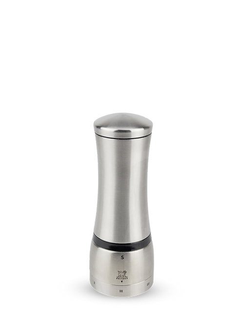 "Peugeot 8.25"" Mahé Manual Pepper Mill Stainless Steel"