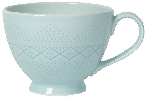 Now Designs Adorn Mug in BLUE GLASS
