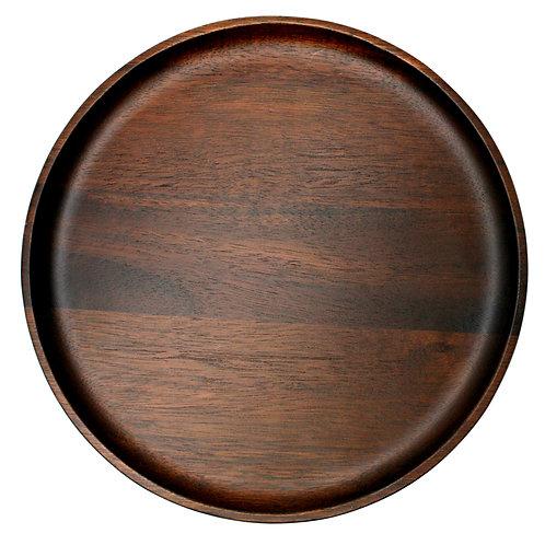 Danes Dark Acacia Plate 30cm