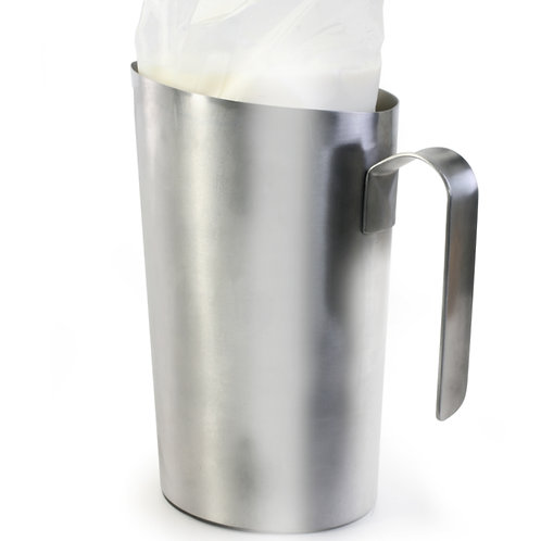 Danes Milk Bag Holder Stainless Steel