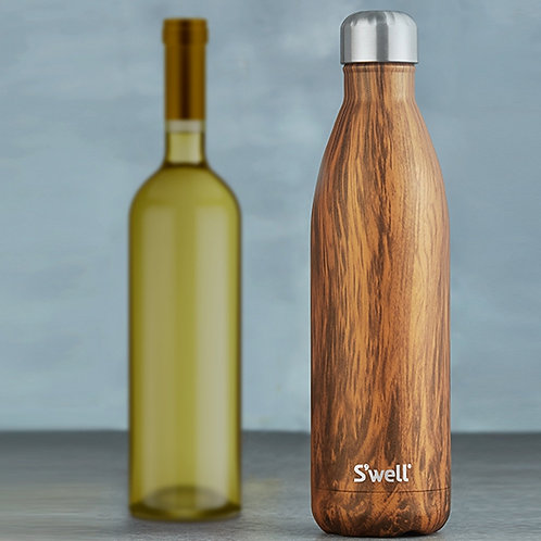 Swell Teakwood Bottle - 750 ml (25 oz)