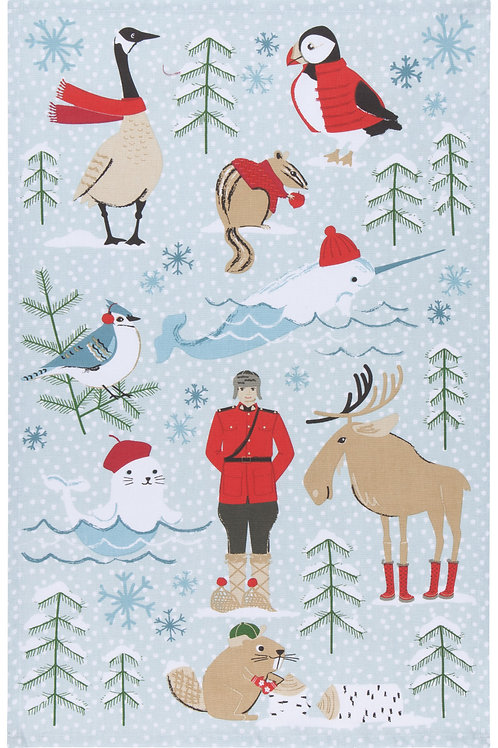 Now Designs Nice Weather Eh? Tea Towel