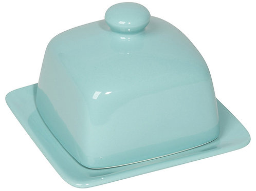 Now Designs Square Butter Dish in EGGSHELL