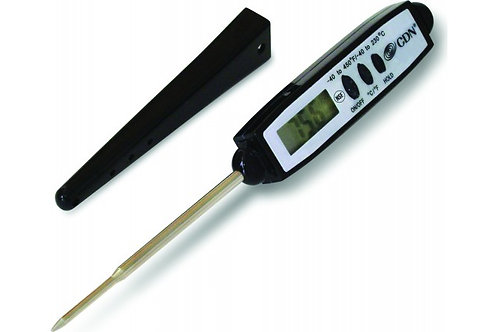 CDN - Black Waterproof ProAccurate Pocket Thermometer - DT4