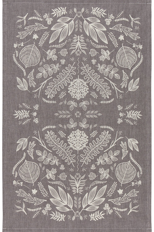 Now Designs Chambray Laurel Tea Towel