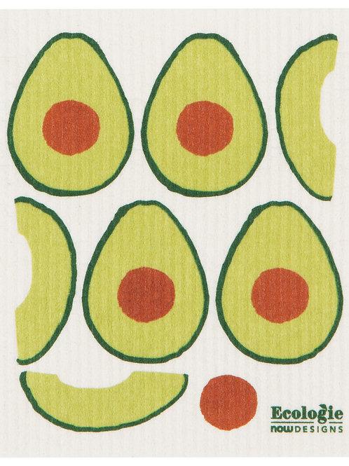 Now Designs Avocados Swedish Sponge Dishcloth
