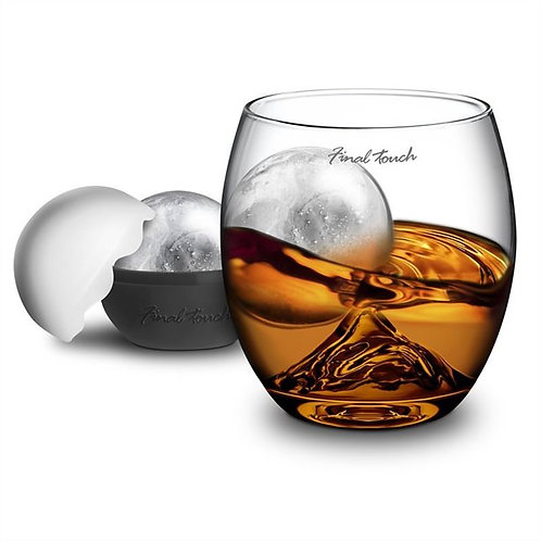 Final Touch ON THE ROCK Whiskey Glass