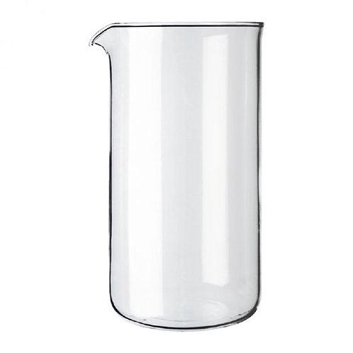 Bodum Spare glass for coffee maker, 3 cup, 0.35 l, 12 oz, dia 6.8 cm, H 13 cm