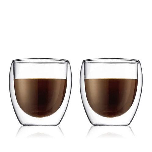 Bodum Pavina 2pc Double Walled Glasses 8oz