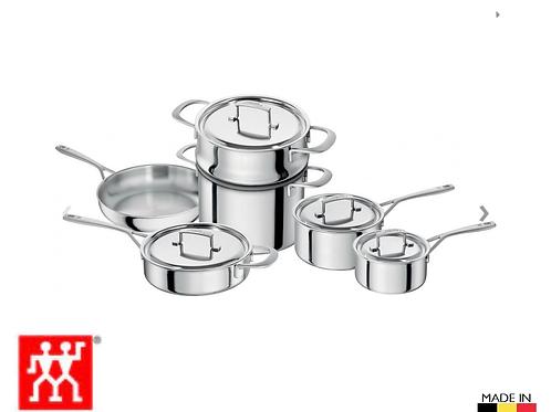 ZWILLING Sensation 10pc Cookware Set Made in Belgium