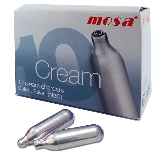 Mosa Whipped Cream Charger Box of 10