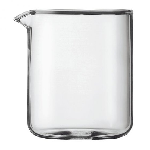 Bodum Spare glass, 4 cup, 0.5 l, 17 oz, dia 9.6 cm, H 12.5 cm
