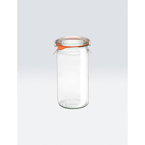 Weck Cylindrical Jar .25L (1/4)