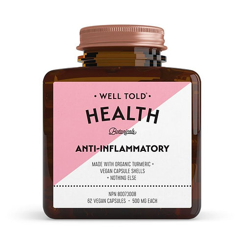 Well Told Health Vitamins ANTI-INFLAMITORY
