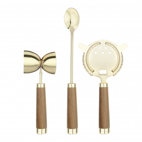 Final Touch 3pc Brass Mixing Set