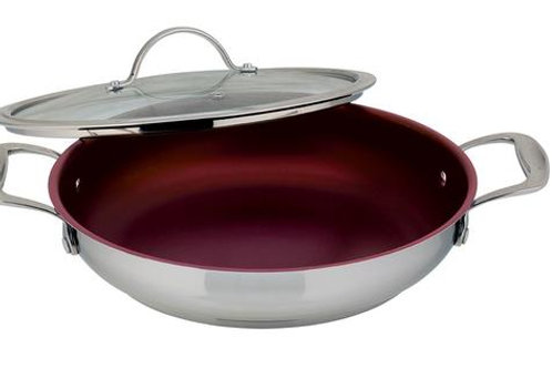 "Meyer Confederation 11""  non-stick Everyday Pan with Lid"