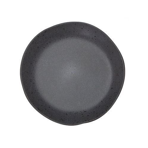 BIA Salad Plate In CHARCOAL