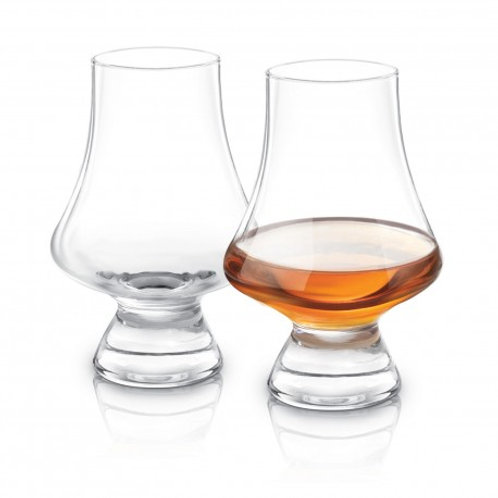 Final Touch 2pc Whiskey Tasting Glasses