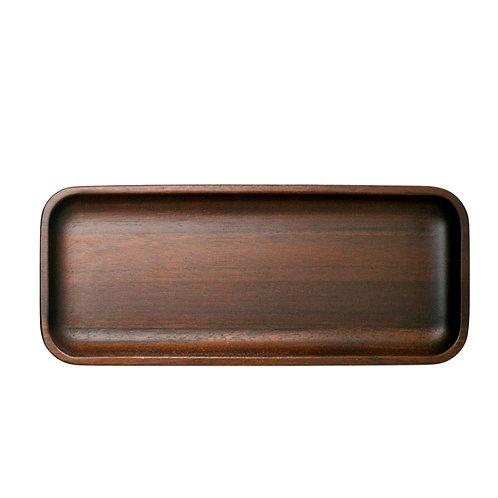 """Danes Dark Acacia Platter 8"""""""