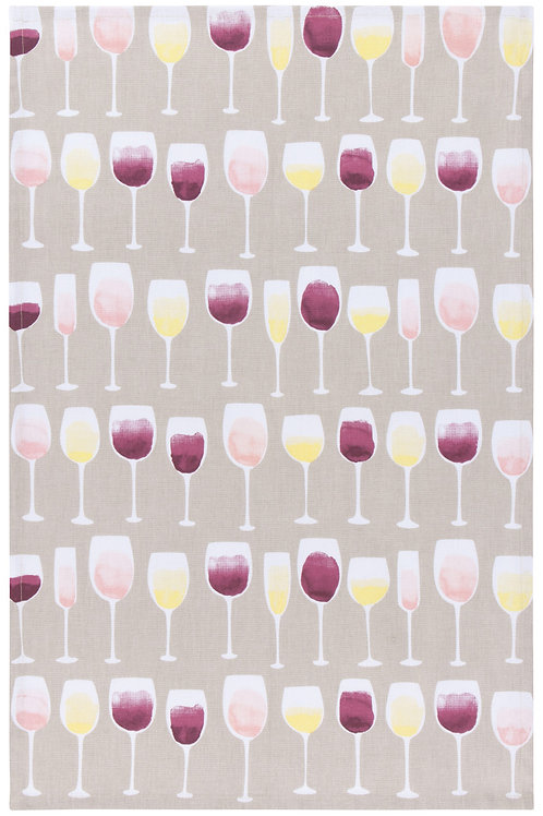 Now Designs Wine Tasting Tea Towel