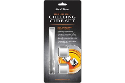 Final Touch - Stainless Steel Chilling Cube Set