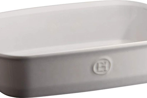 Emile Henry Rectangle Dish W/ Handles in FARINE