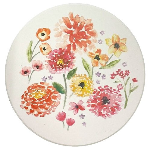 Now Designs Soak Up Coaster Set of 4 COTTAGE FLORAL