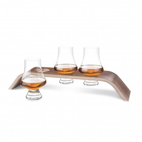 Final Touch 4pc Whiskey Flight Tasting Set