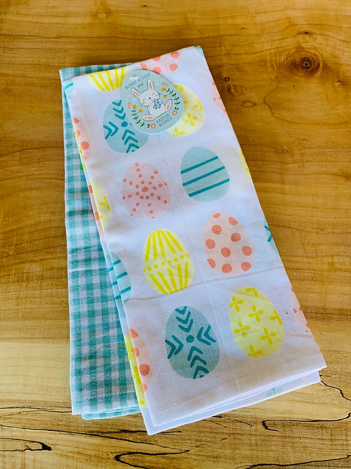 Easter Tea Towel Set