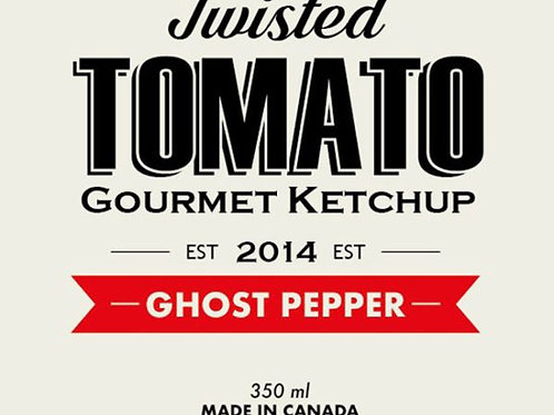 Twisted Tomato Ketchup GHOST PEPPER