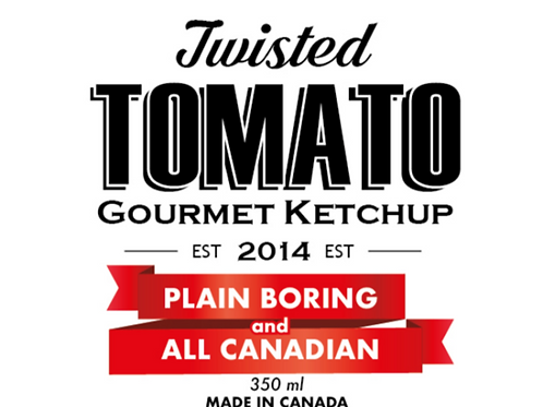 Twisted Tomato Ketchup PLAIN CANADIAN