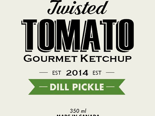 Twisted Tomato Ketchup DILL PICKLE
