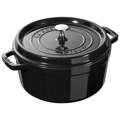 ZWILLING Staub La Cocotte 3.75 L Shiny Black Cast Iron
