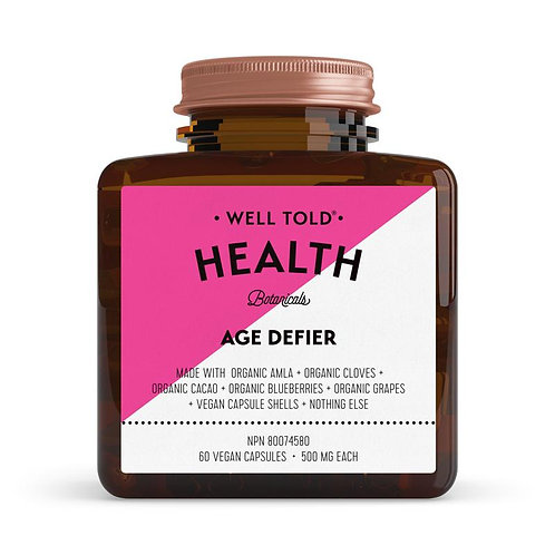 Well Told Health Vitamins AGE DEFIER