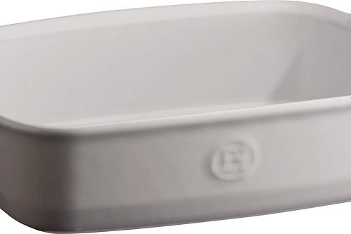 Emile Henry Rectangle Dish w/ Handles Med in FARINE