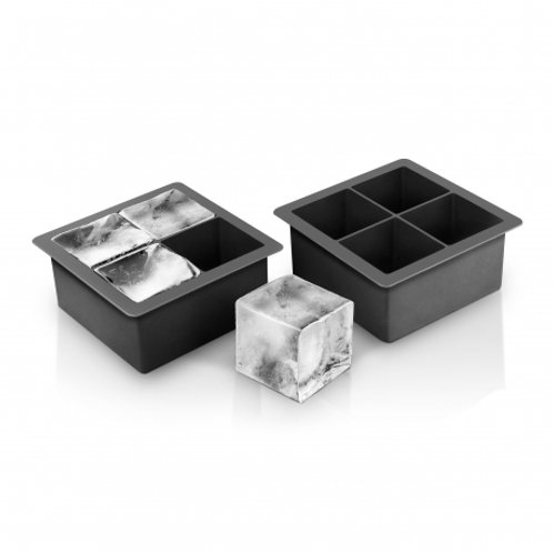 Final Touch Set of 2 Extra Large Silicone Ice Cube Molds