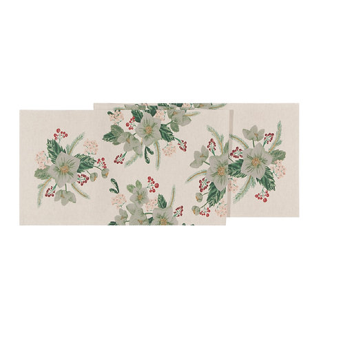 Now Designs Winterblossom Table Runner