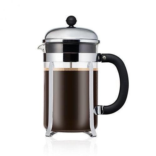 BODUM CHAMBORD® coffee press w/santoprene handle & knob, 12 cup, 1.5 l, 51 oz