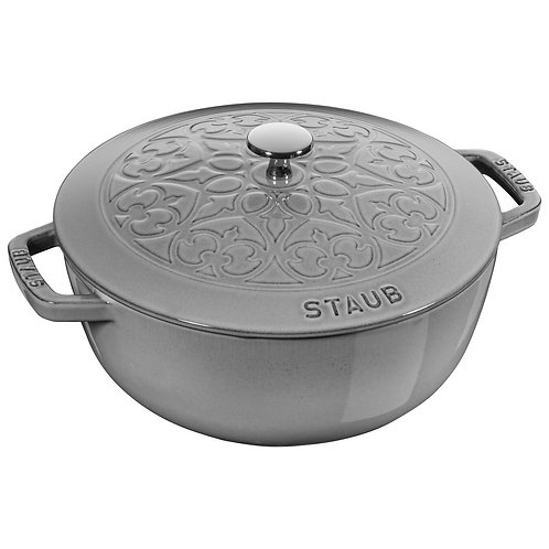 Staub 5L Cast Iron French Oven in GREY