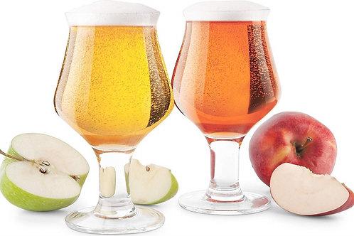 Final Touch - Hard Cider Glasses Set of 2