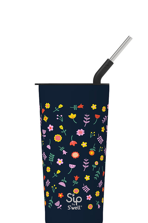 Swell Sip Tumbler in WILDFLOWER 24oz
