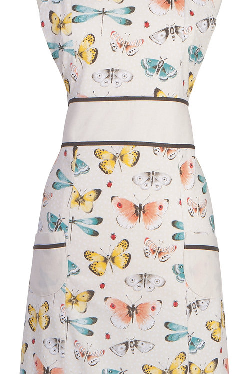 Now Designs Betty Apron FLY AWAY