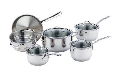 Meyer Nouvelle Stainless Steel Set 10pc
